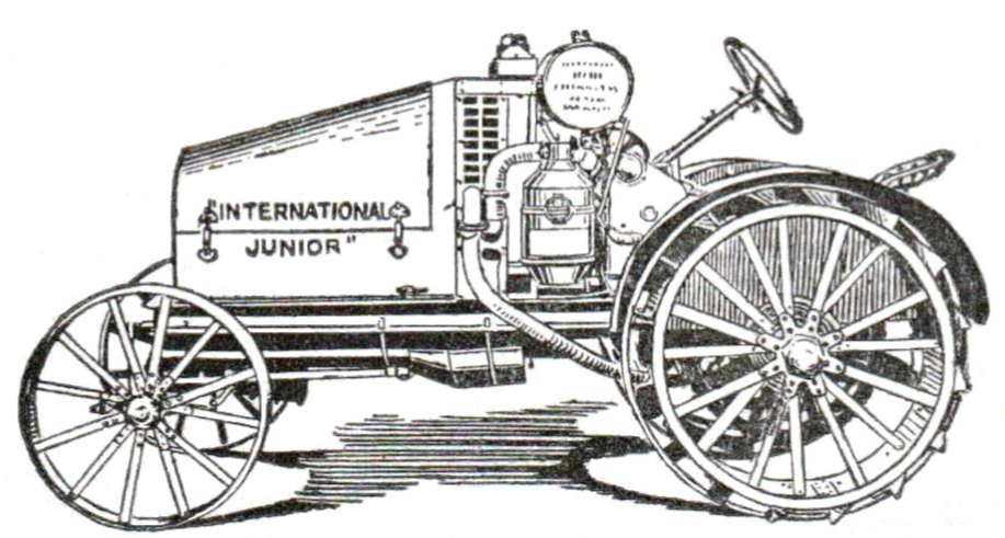 international junior tractor